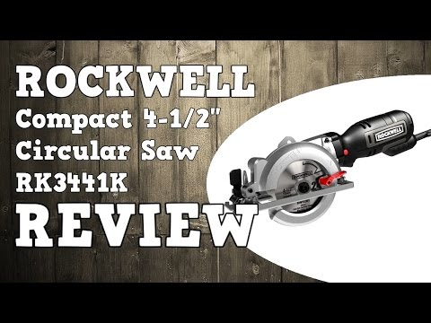Rockwell 4-1/2″ Compact Circular Saw RK3441K Review