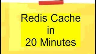Redis tutorial for beginners