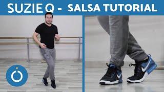 Basic SALSA STEPS - Suzie Q for Beginners