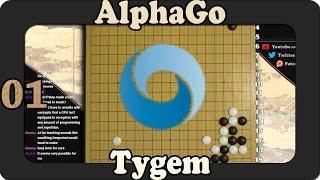 AlphaGo vs Tygem - An 8p Falls to Master(P)!