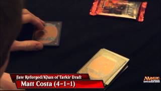 2015 Super Sunday Series Championship Draft with Matthew Costa