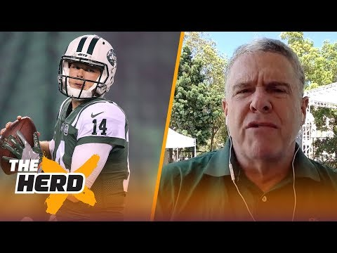 Peter King on Darnold's rookie year in New York, Cowboys training camp and more | NFL | THE HERD