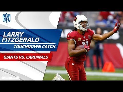 033de07caf5 Larry Fitzgerald's Clutch Catch Caps Off Arizona's TD Drive! | Giants vs.  Cardinals | NFL Wk 16