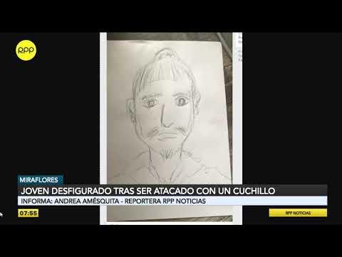 Cámaras de seguridad captaron a sospechoso de agredir con un cuchillo a joven en Miraflores