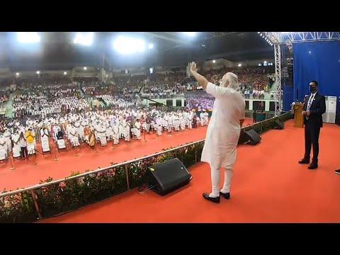 Highlights from PM Modi's visit to Tamil Nadu