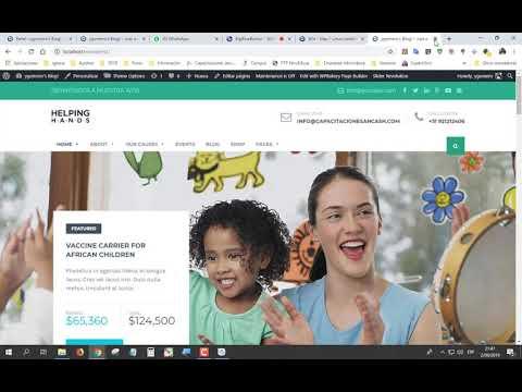 """II WEBINAR EN VIVO """"DISEÑO DE PÁGINAS WEB CON WORDPRESS"""" - SESIÓN 04 // 02/09/2019"""