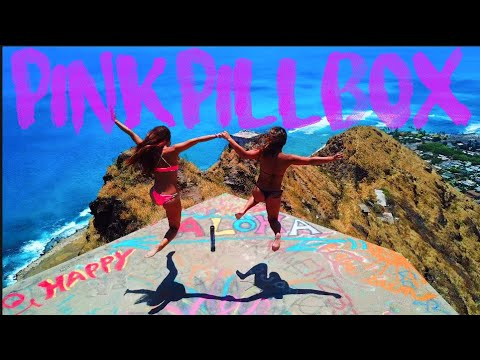 HAWAII-PINK PILLBOX-