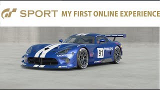 GT Sport Online - My first 5 races.