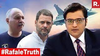 IAF EXPOSES Rahul Gandhi's Lie On Rafale Pricing | The Debate With Arnab Goswami