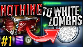 TRADING FROM NOTHING TO WHITE ZOMBAS! EP.1 (Rocket League Trading)