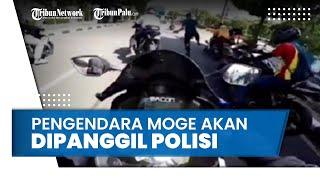 Rombongan Pengendara Moge yang Ditendang Paspampres akan Dipanggil Polisi