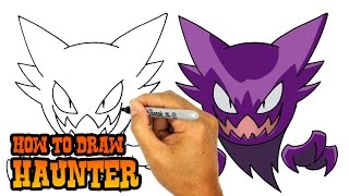 How to Draw Haunter | Pokemon