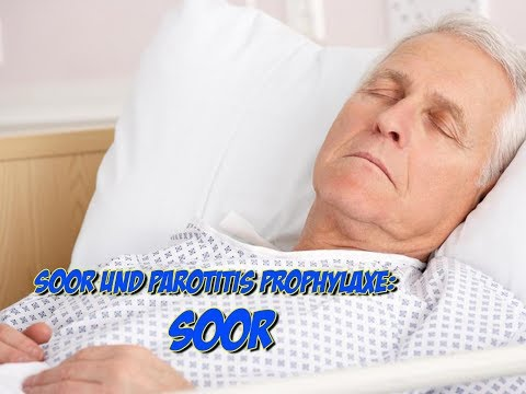Soor und Parotitis Prophylaxe - Soor