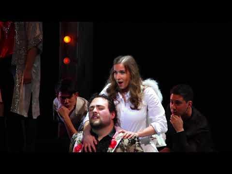 """Recent performance of """"La vérité diton"""" from Les Contes d'Hoffmann."""