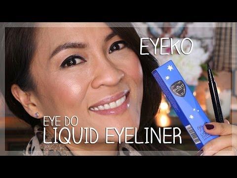 Black Magic Liquid Eyeliner by Eyeko #4