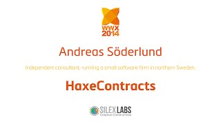 "wwx2014 Andreas Söderlund ""HAXECONTRACTS"""