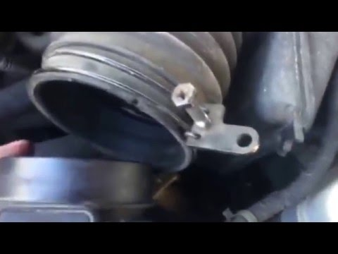 Фото к видео: How to clean a MAF sensor 1999 Hyundai Sonata 2.5 V6