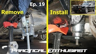 Project E30 / Ep. 19 / In-Car Rear Subframe Bushing Replacement