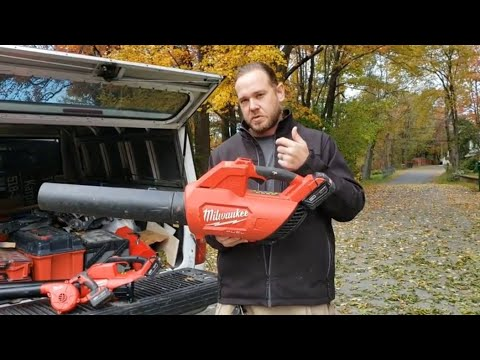 Milwaukee M18 leaf blower review