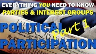Unit 5 Review Political Participation: Parties & Interest Groups AP Government