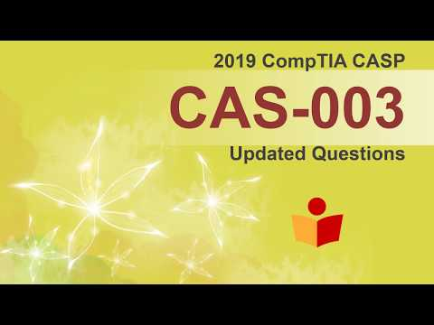 [CAS-003 Updated Version] New CompTIA CASP CAS-003 Real ...