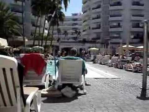 Video zwembad hotel RIU Waikiki*** (Playa del Inglés, Gran Canaria)