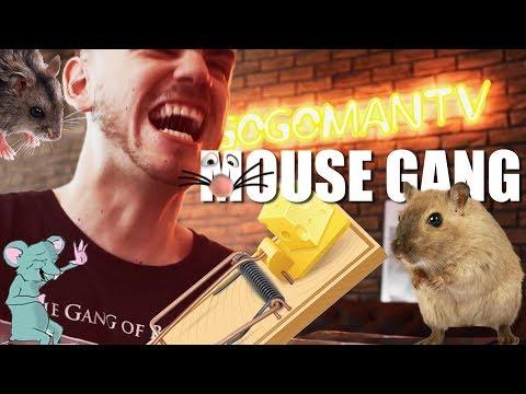 Ruka v pasti na myši! - Mouse Gang GAME!