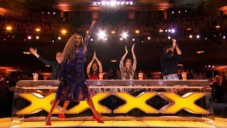 TOP 4 GOLDEN BUZZER America