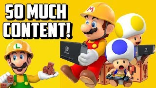 The Super Mario Maker 2 Nintendo Direct Was Packed With Content