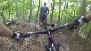 A ride through the many trails in Patapsco Valley State Park.