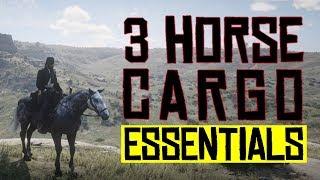 3 Horse Cargo ESSENTIALS - Red Dead Redemption 2