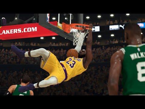 NBA 2K20  Celtics vs Lakers XBOX ONE X Gameplay!!