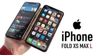 Презентация гнущегося iPhone Fold XS Max L