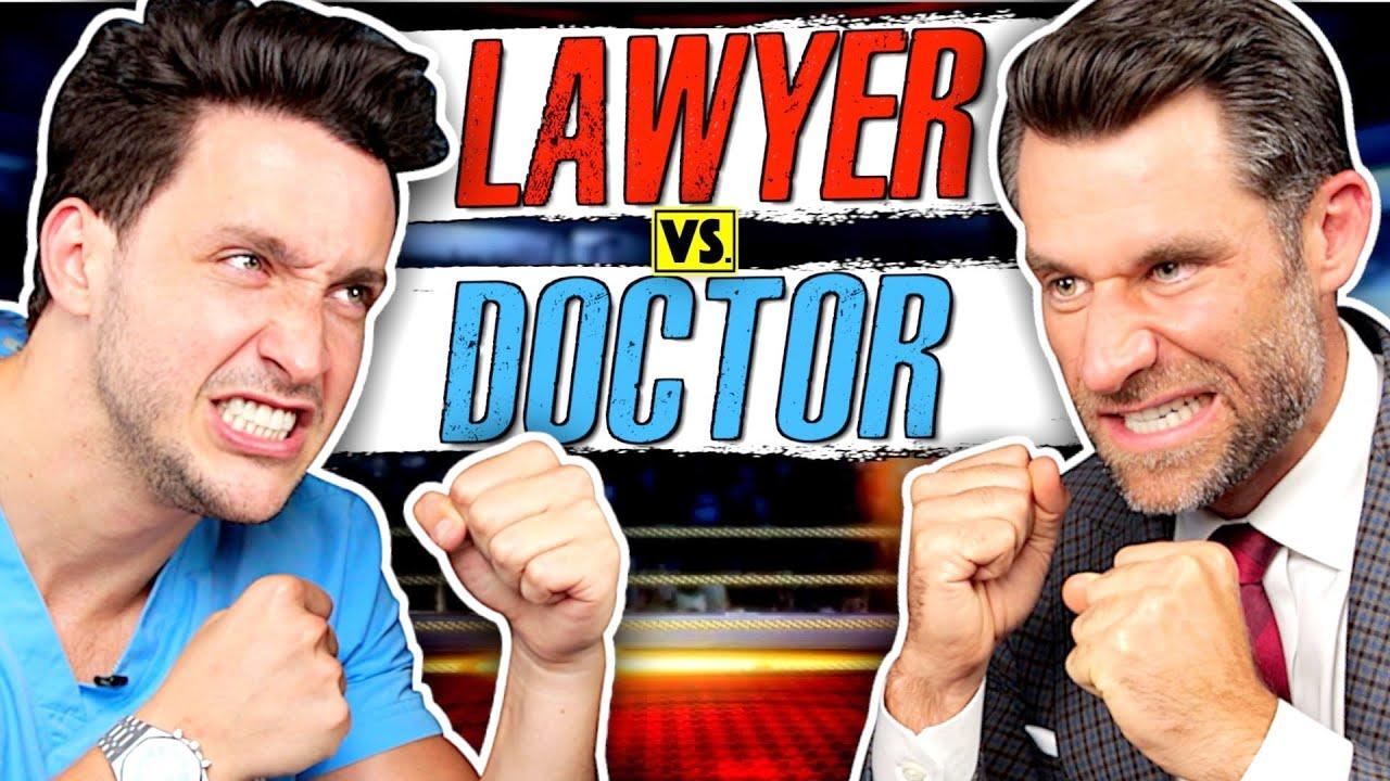 Law School vs. Med School: Which Is Harder?