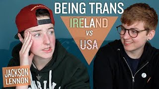 16 Year-Old Irish Trans Guy