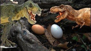 МИР ДИНОЗАВРОВ.  Тираннозавры, спинозавры, заурофоганаксы и др. СБОРНИК мультиков про динозавров.