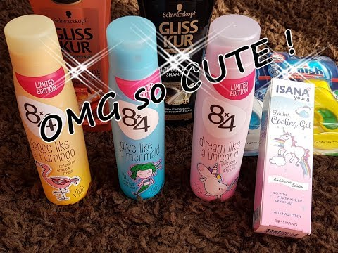 CUTE neue 8x4 Kollektion / Mini Rossmann Haul !