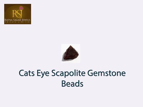 Wide Collection Of AAA Cats Eye Scapolite Gemstone Beads  | Ratna Sagar Jewels