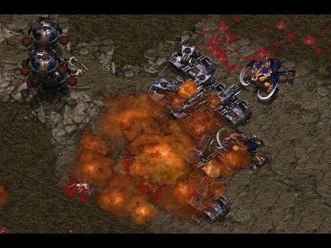 P - Fantasy (T) v Hyuk (Z) on Bloody Ridge - StarCraft  - Brood War REMASTERED