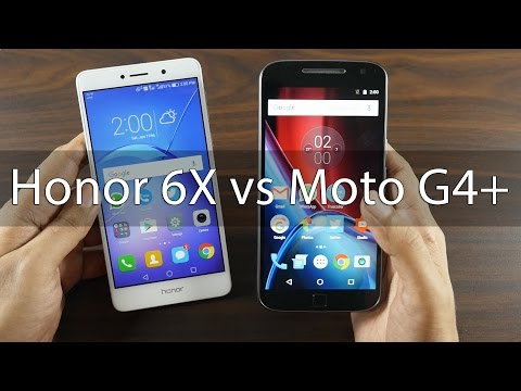 Honor 6X Camera Review & Comparison with Moto G4 Plus