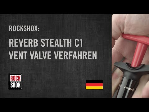 ROCKSHOX: Reverb Stealth C1 Vent Valve Verfahren