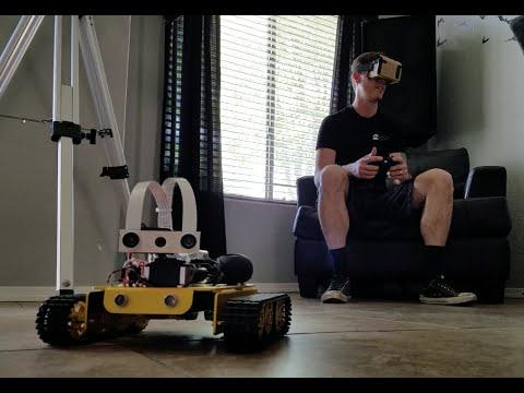 Stream a Raspberry Pi camera into VR with Javascript – Raspberry Pi Pod