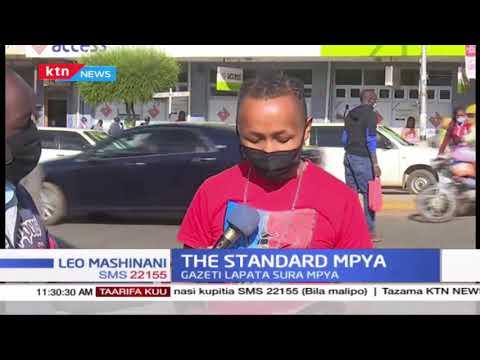 Wenyeji wa Eldoret watoa maoni yao kuhusu Gazeti la The Standard lenye sura mpya