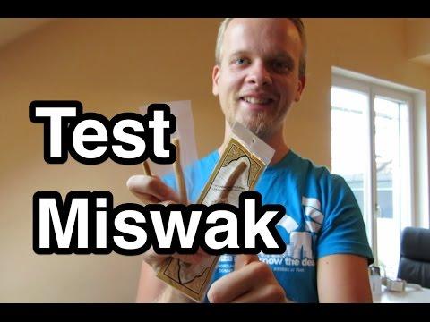 Test Miswak | Miswak benutzen | Meswak | Siswak | Seswak | Sewak