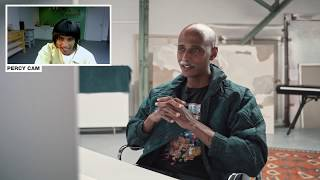 Percy reagiert auf Antoine Reaction zu Percy Reaction