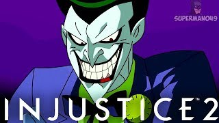 """THE JOKER MAKING PEOPLE RAGE QUIT! + SUPER SPECIAL COMMENTARY - Injustice 2 """"The Joker"""" Gameplay"""