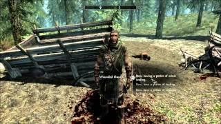 Skyrim Mod Review: Falskaar Part 10: Ambushed Caravan And The Reinaldur Farmstead
