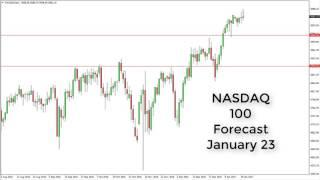 NASDAQ100 Index - NASDAQ Technical Analysis for January 23 2017 by FXEmpire.com