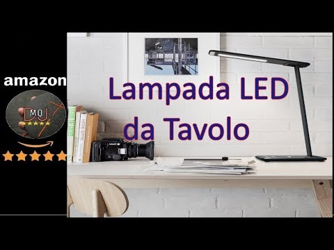 🎬AMAZON►Lampada LED da tavolo, 15W Lampada (ITA)