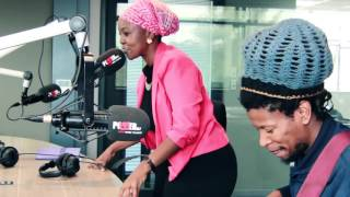 Nkoto performs 'Africa' live on Power FM